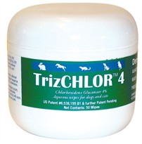 DermaPet Trizchlor 4 (50 wipes)