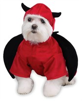 Casual Canine Devil Dog Costume - MEDIUM