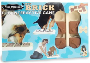 Dog Brick Interactive Game Dog Toy
