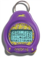 Dog-e-Tag PURPLE