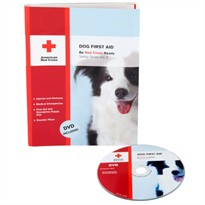 Dog First Aid book - With DVD