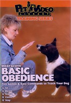 Interactive Basic Obedience  DVD