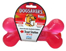 Dogsavers bone with Treat Station Large 7.25 (Assorted)