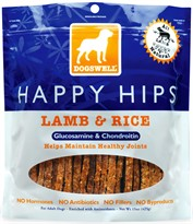 Dogswell Happy Hips Lamb & Rice Treats (15 oz)