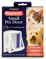 Petsafe - Door Small White Clear Hrd Flap