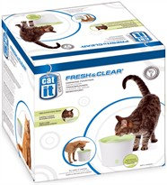 Catit Design Fresh & Clear Drinking Fountain for Cats