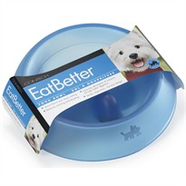 Contech EatBetter Medium Blue Food Bowl