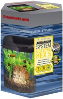 Marineland Eclipse Hex 5 Intergrated Aquarium System (5 Gal)