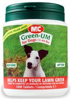 ECONOMY SIZE Green UM for Dogs 11-44 lbs (1,000 tablets)