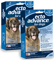 6 MONTH EctoAdvance for Dogs 89-132 lbs