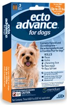 3 MONTH EctoAdvance for Dogs 0-22 lbs