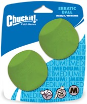 Chuckit! Erratic Ball - Medium (2 PACK)