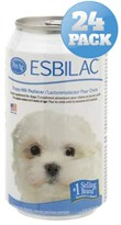 24 PACK Esbilac Puppy Milk Replacer Liquid (264 oz)