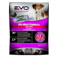EVO Red Meat Formula Small Bites Dry Dog Food (28.6 lb)