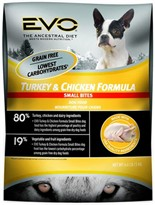 EVO Small Bites Turkey & Chicken Formula Dry Dog Food (2.2 lb)