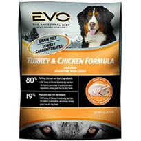 EVO Turkey & Chicken Formula Dry Dog Food (28.6 lb)