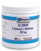 EZ-CHEW S-Adenosyl Plus 200mg (40 Soft Chews)