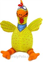 Doggy Hoots - Floppability Dog Toys Suspicious Chicken