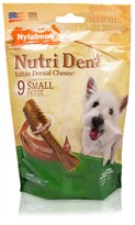 Nylabone Nutri Dent Dental Chews Filet Mignon (9 Small)