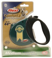 Flexi Comfort 2 Retractable CORD Leash for Dogs up to 44 lbs