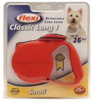 Flexi Long 1 Retractable CORD Leash for Dogs up to 26 lbs.