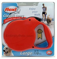 Flexi Long 3 Retractable TAPE Leash for Dogs up to 110 lbs.