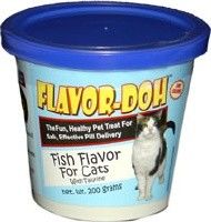 Flavor-Doh Fish Flavor For CATS - 200 Grams