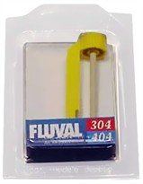 Fluval Ceramic Impeller Shaft Assembly w/ Curved Fan Blade 304 & 404