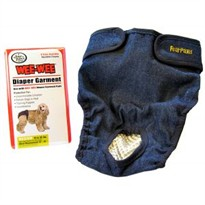 Four paws Wee-Wee Diaper Garment(Medium)