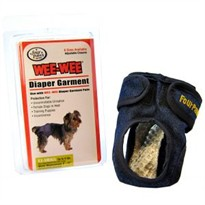 Four paws Wee-Wee Diaper Garment (XX-Small)