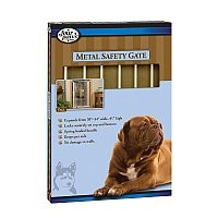 "Four Paws Metal Safety Gate (30-34"" W x 39.25"" H)"