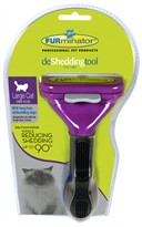FURminator Long-Hair deShedding Tool for LARGE Cats