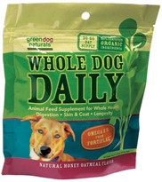 Greendog Naturals Whole Dog Daily Powder Pouch (150g m)
