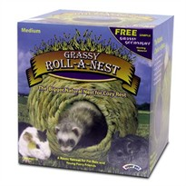 SuperPet Grassy Roll-A-Nest Medium