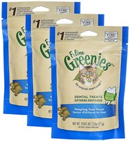 3- PACK Greenies Feline - Tempting Tuna (7.5 oz)