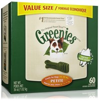 Greenies Dental Chews Value Size - Petite
