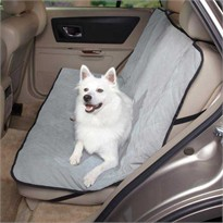 Guardian Quilted Car Seat Cover - Quarry (3.8x15x9.8 In)