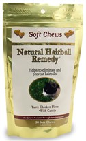 Natural Hairball Remedy for Cats (50 Soft Chews)