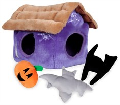 Halloween Hide-A-Toy Haunted House