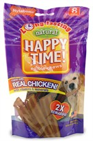 Nylabone Happy Time Chicken Dog Treats - Small (8 count)
