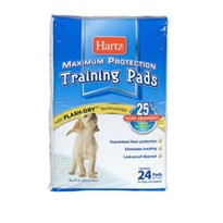Hartz Maximum Protection Training Pads (24 ct)
