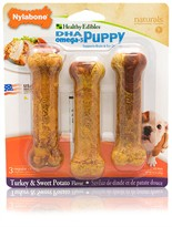 Healthy Edibles Puppy - Turkey & Sweet Potato Flavor Regular (3 ct)