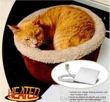 "Heated Cat Bed by PetMate (15"" Round)"