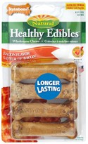 Nylabone Healthy Edibles Resealable Pouch -  Bacon Flavored (8 PETITE/ 7.61 oz)
