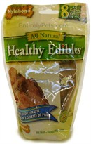 Nylabone Healthy Edibles Resealable Pouch -  Pork Chop Flavored (8 PETITE/ 5.36 oz)