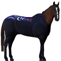 Hidez Horse Compression Suits - BLACK (58 - 59 3/4 inches)