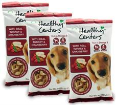 3-PACK Healthy Centers Turkey & Cranberry Flavor (12 oz)