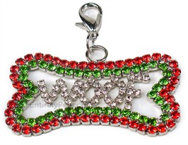 Aria Holiday Bling Bone Charms