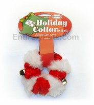 "Holiday Collar w/ Bell Small (4""-10"")"