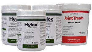 3-PACK Hylox Soft Chews (360 ct) + FREE JOINT TREATS!
